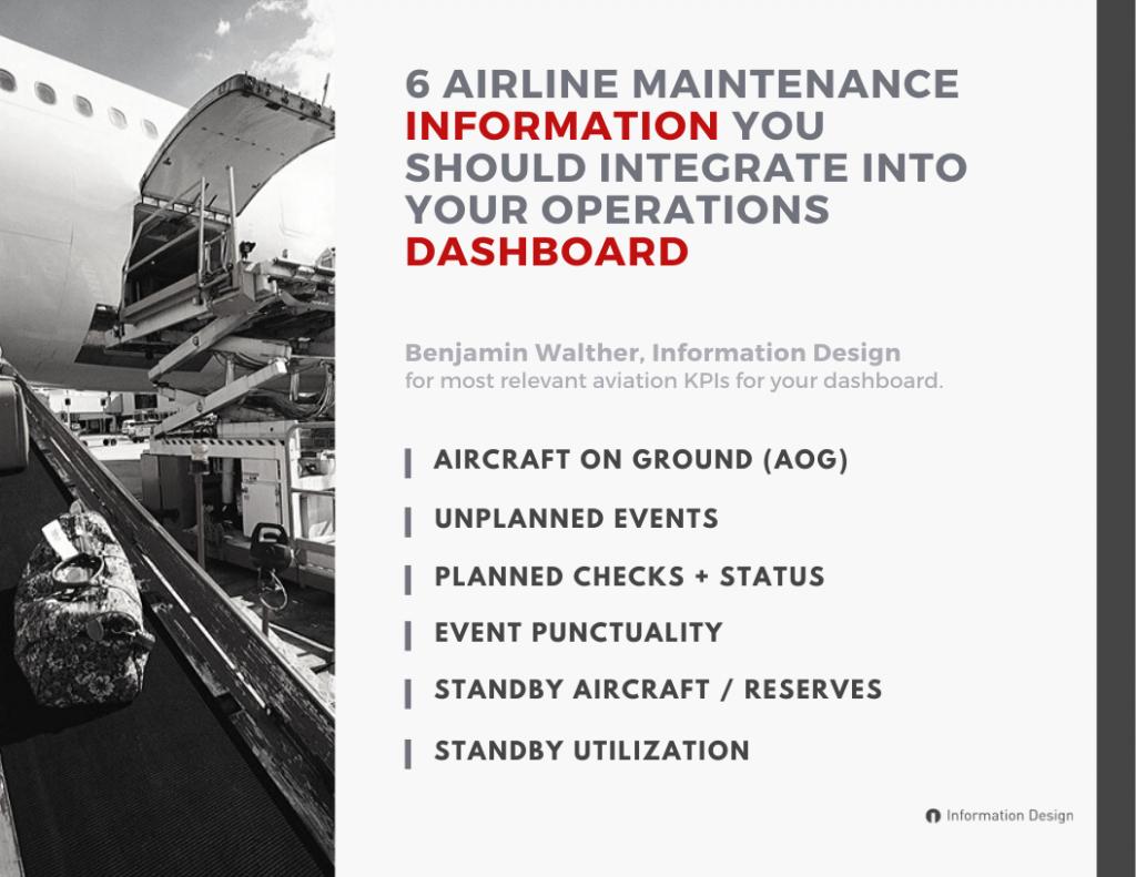 airline maintenance information