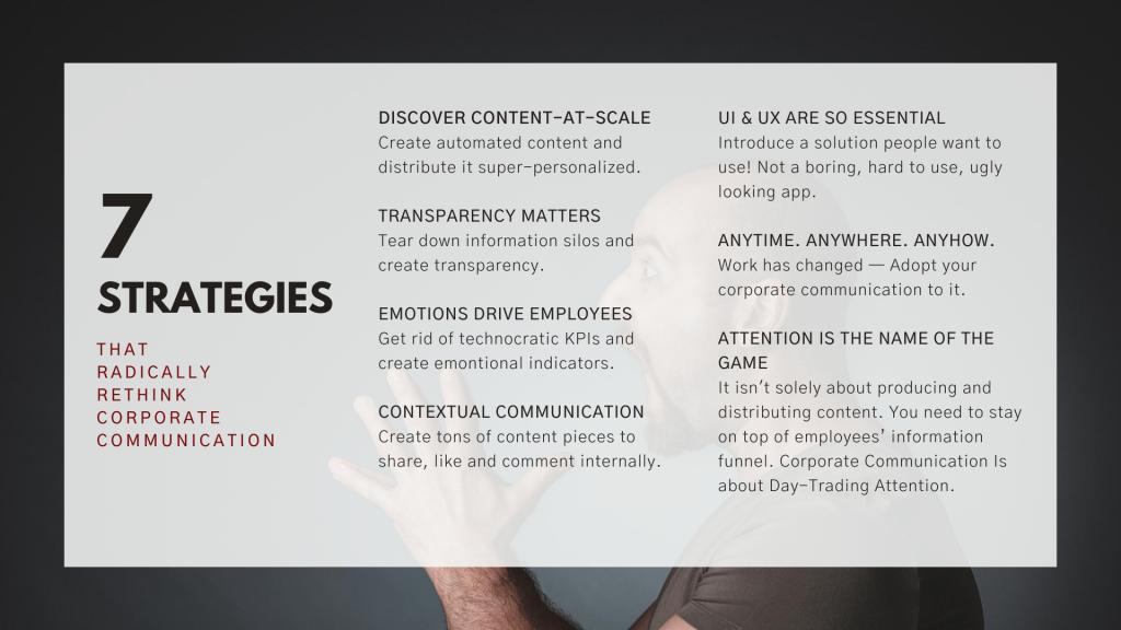 7 Corporate Communication Strategies