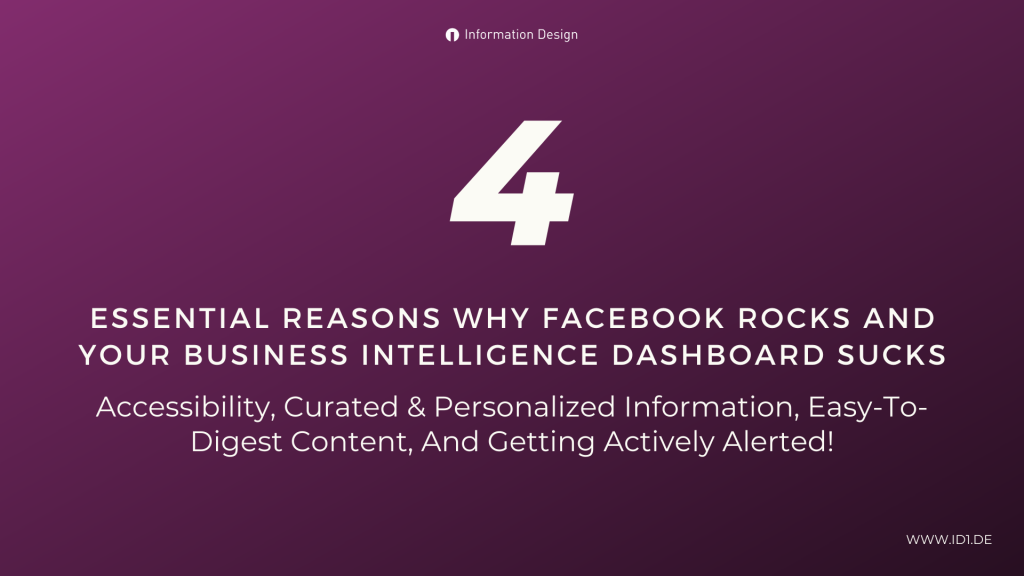 Business Intelligence Dashboard And Facebook