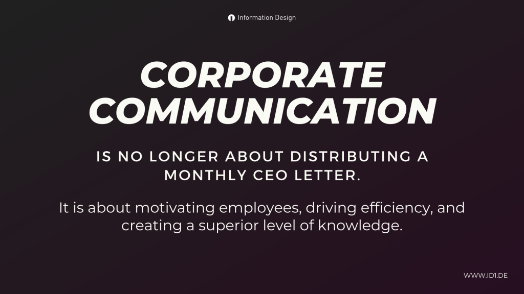 What Corporate Communication Is About