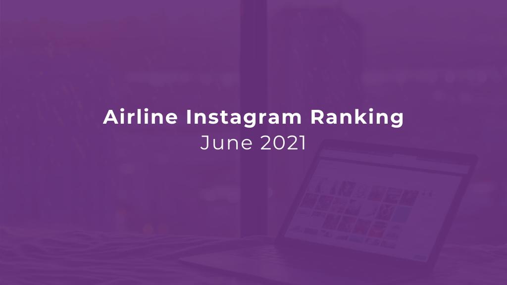 Airline Instagram Ranking