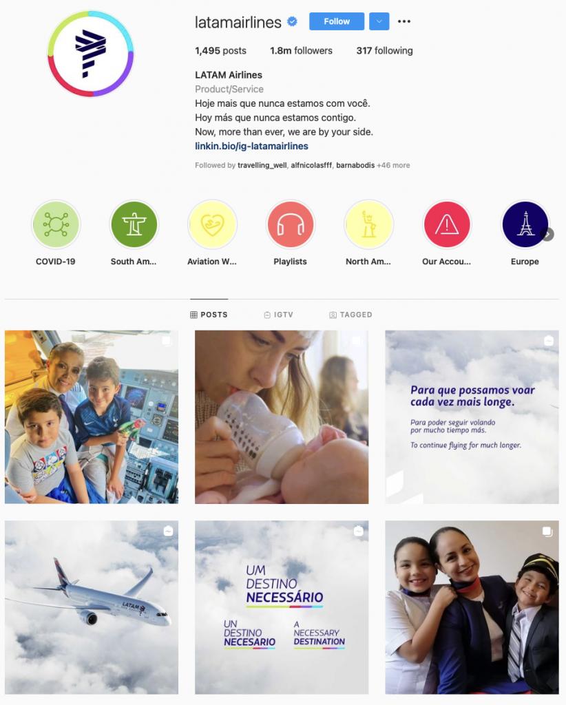 world'S best airline brands on Instagram — LATAM Airlines
