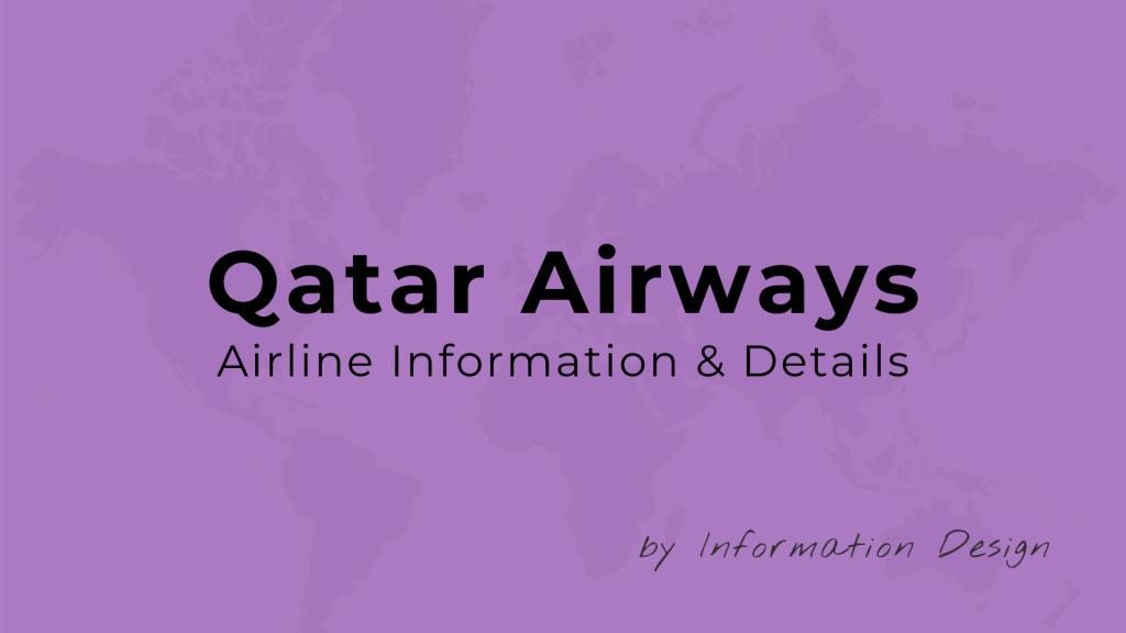 Qatar Airways Airline INformation