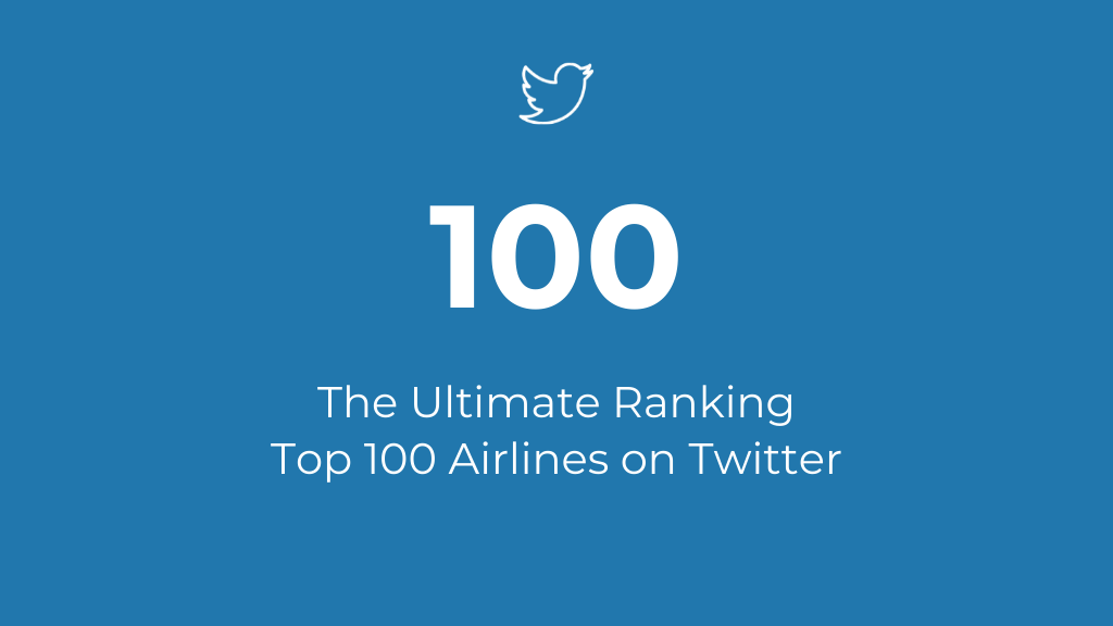 Top Airlines on Twitter