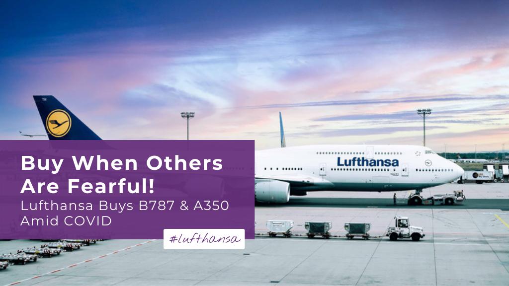Lufthansa buys B787 and A350