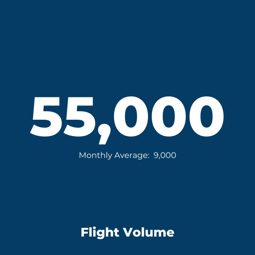 Istanbul Ataturk Airport - Flight Volume 2021