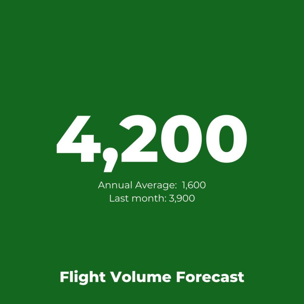 Aegean Airlines - Flight Volume Forecast