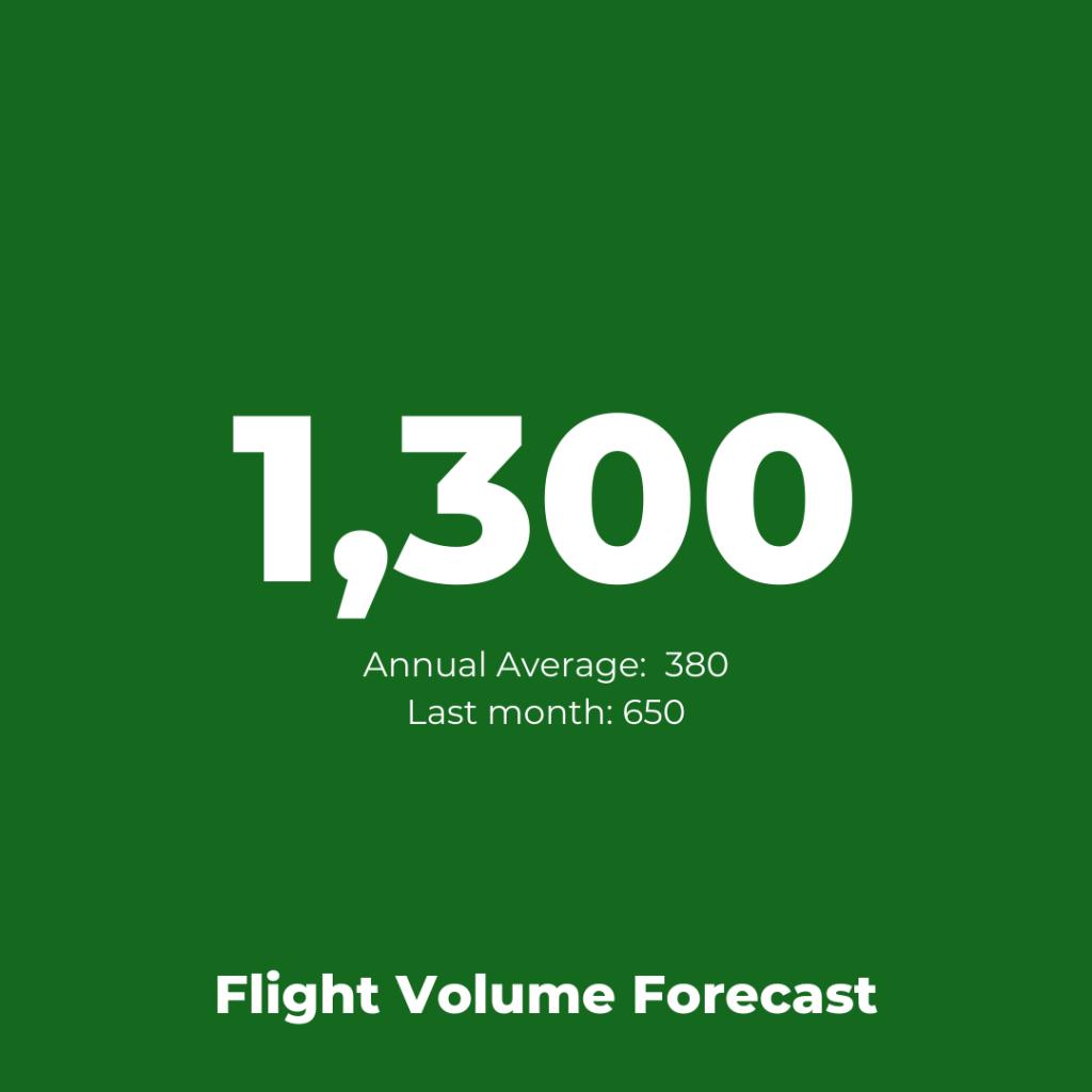 Virgin Atlantic - Flight Volume Forecast