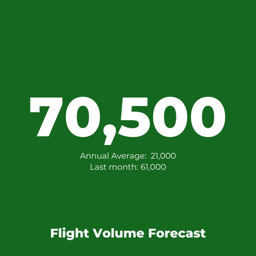 Ryanair - Flight Volume Forecast