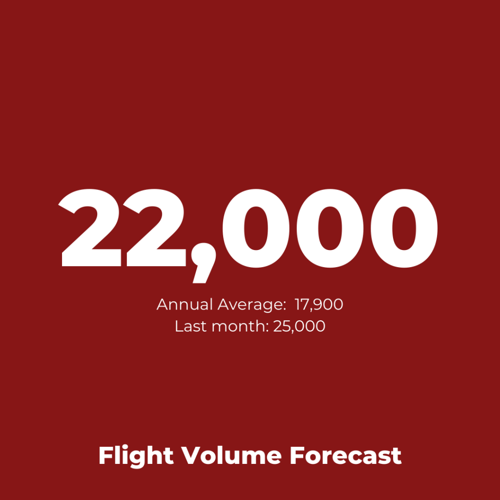 Airline Operations: Air France Flight Volume Forecast
