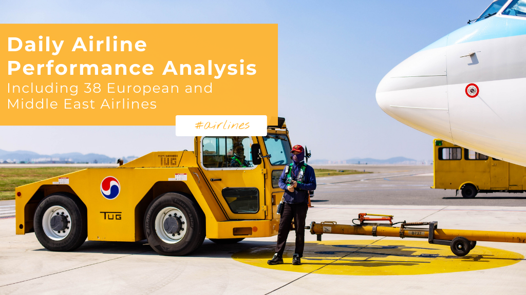 Daily Airline Performance Analysis — Including 38 European & Middle East Airlines