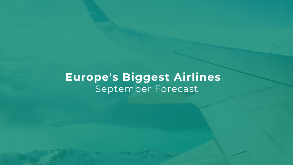 Europe's Biggest Airlines By Flight Volume — September Edition