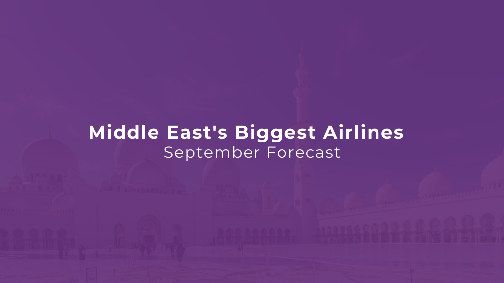 Middle East's Biggest Airlines by Flight Volume — September Edition
