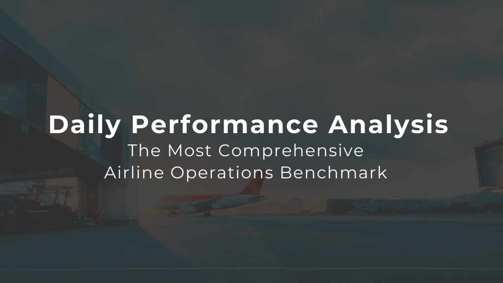 Daily Airline Performance & Operations Benchmark — 20th September '21