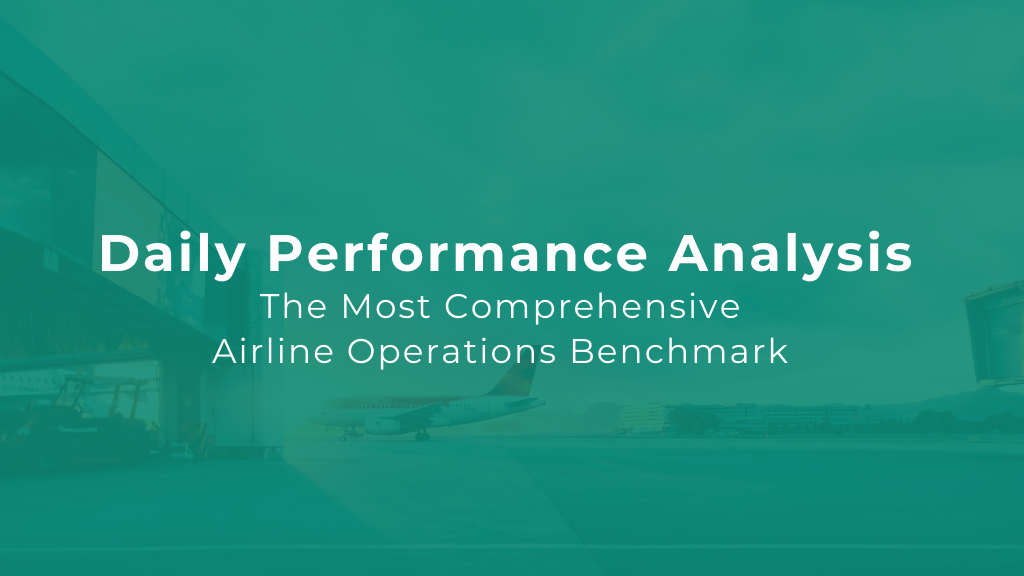 Daily Airline Performance & Operations Benchmark — 21st September '21
